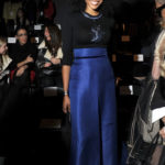 Cynthia Bailey also attended the Zang Toi show.