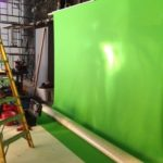 The studio green screen...You've got to be seen green...