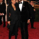 Alicia Keys and Swizz Beatz in Givenchy by Riccardo Tisci