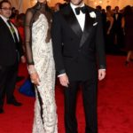 Chanel Iman and Tom Ford in Tom Ford