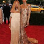 Rachel Zoe and Karolina Kurkova in Rachel Zoe
