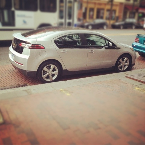 Divas Drive In Heels:  Get Electric On The Road With The Chevy Volt!