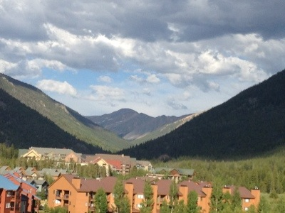 Colorado mountains...