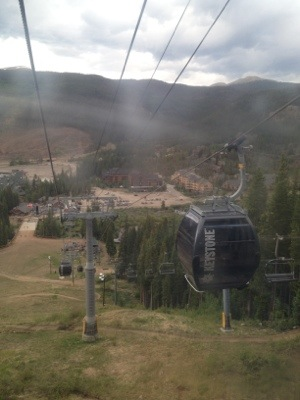 Keystone Resort gondola ride