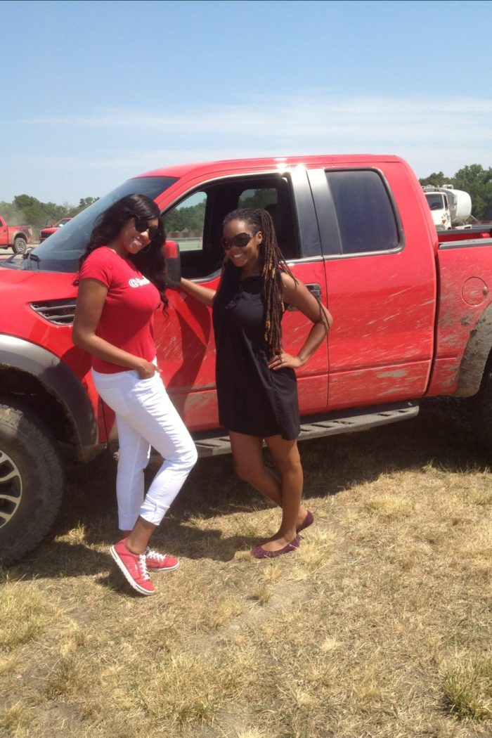 Divas Day At The Track:  Stunt Driving & Police Chasing With Ford! #GoFurther