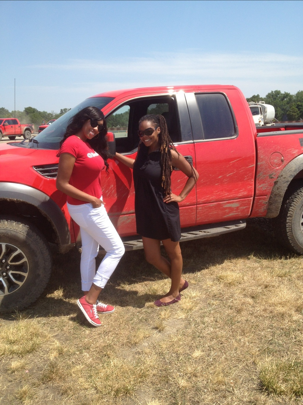 Divas Day At The Track With Ford