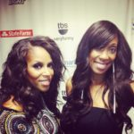 June Ambrose Backstage at Essence Music Festival after announcing Coca Cola Style Refresh Winners