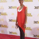 MC Lyte on Red Carpet