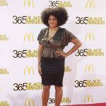 Marsha Ambrosius on Red Carpet