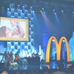 Fred Hammond sings during McDonald's 365 Black Awards