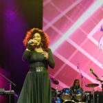 Chaka Khan performs 'I'm Every Woman' at the Verizon SuperLife Graduation