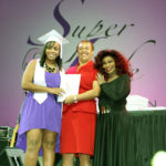 SuperLife Graduate with Chaka Khan & Dr. Denese Shervington