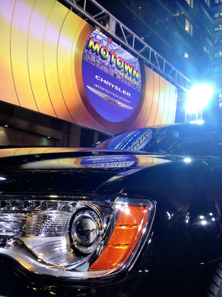 chrysler motown the musical broadway preview nyc