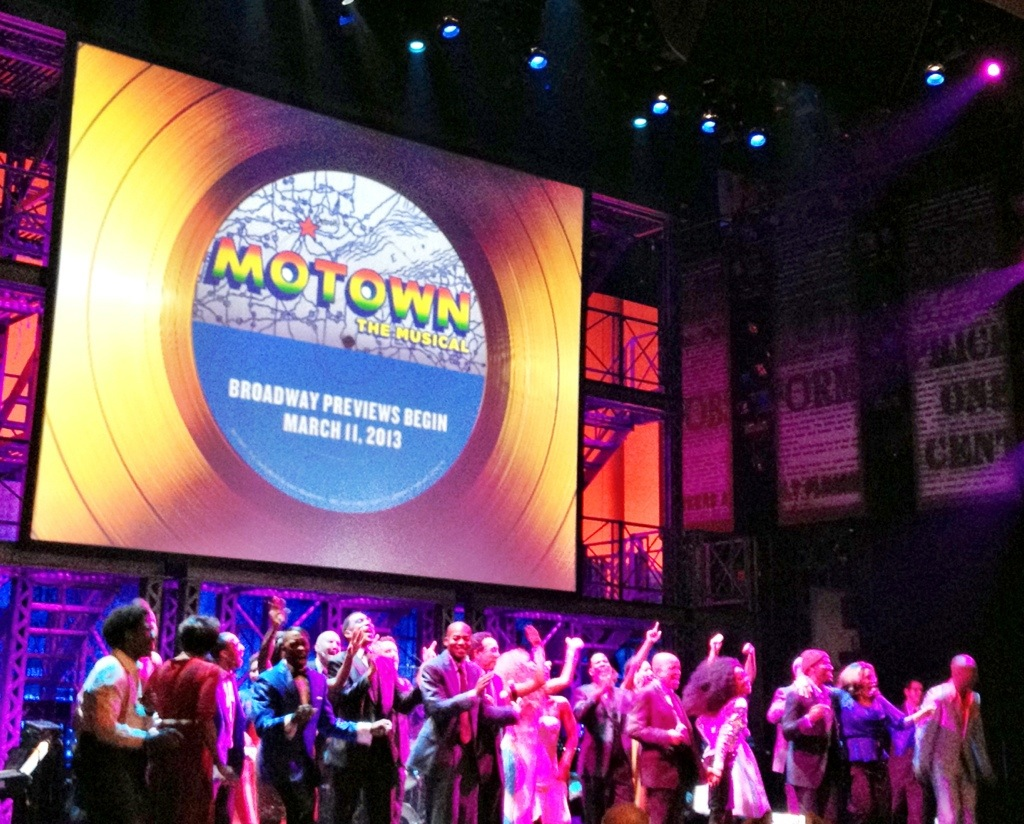 motown the musical preview cast