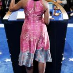 michelle obama tracy reese dnc 2012 charlotte back
