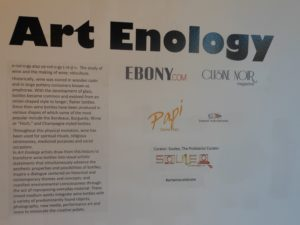 Art Enology gallery wall