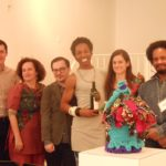 Art Enology panelists and Curator Souleo
