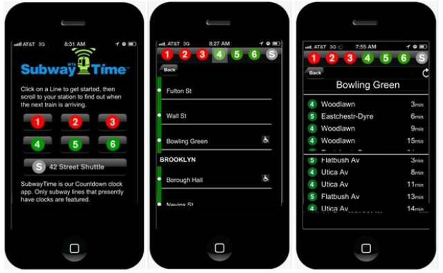 Subway-Time-App
