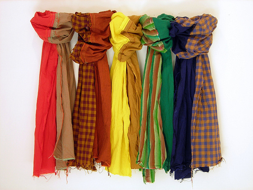 travel style 3 - scarves