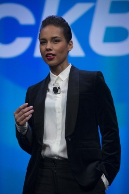 alicia keys blackberry creative director