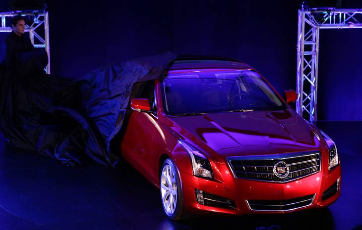 naias north american international auto show cadillac ats