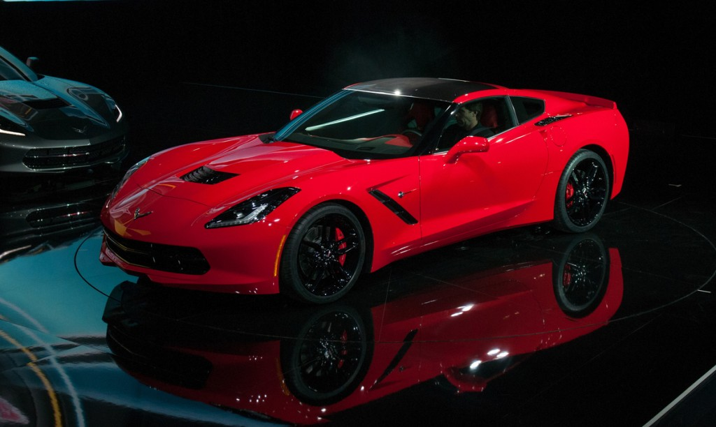 north american international auto show naias stingray chevy corvette