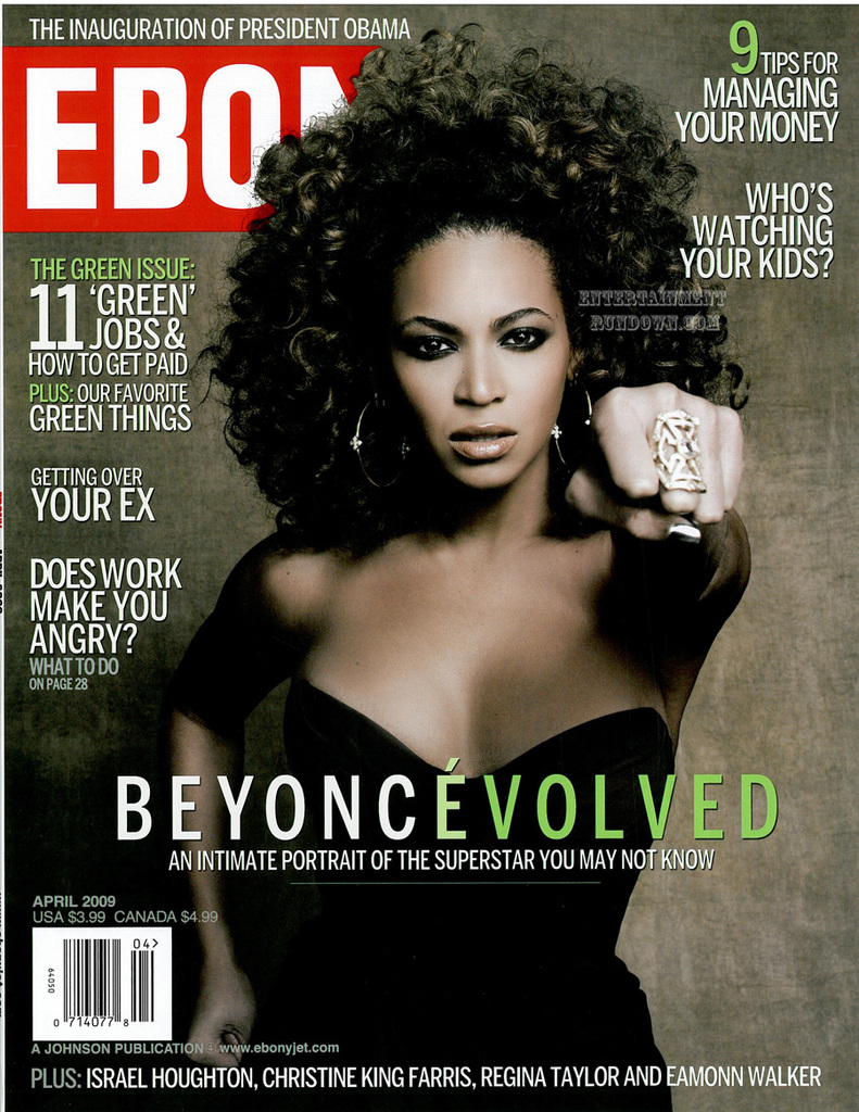 beyonce covers magazine