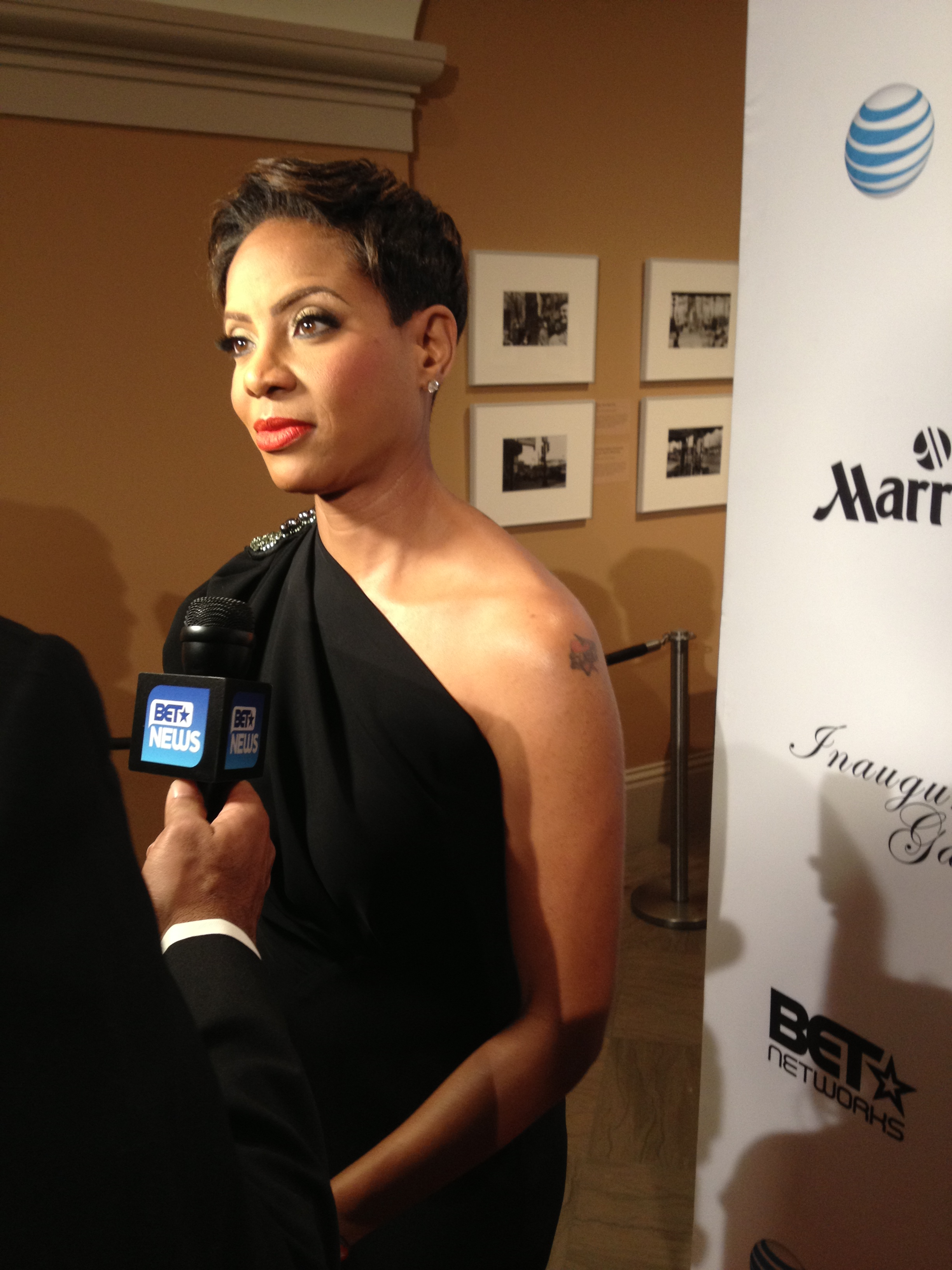 MC Lyte BET inaugural ball
