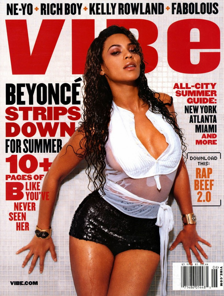 beyonce covers magazine vibe