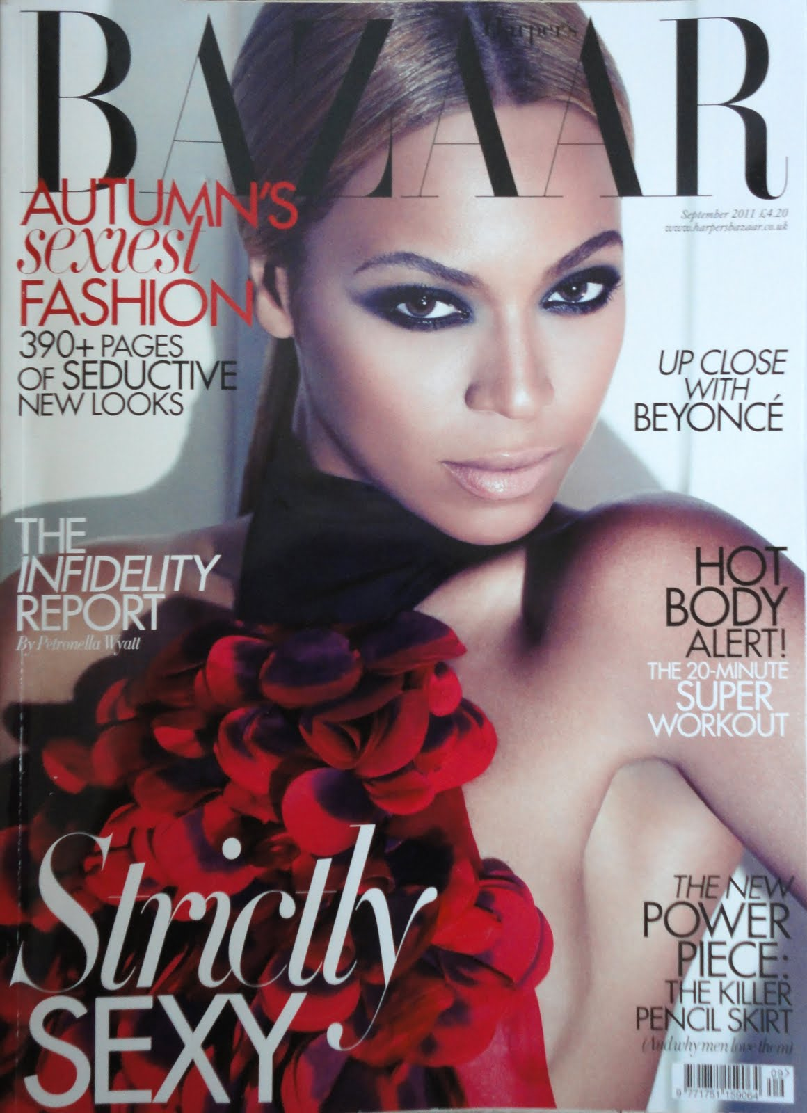 bazaar beyonce covers magazine