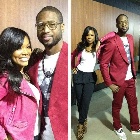 gabrielle-union-dwyane-wade-instagram-los-angeles-lakers-miami-heat-game-moto-jacket-b-brian-atwood-fortosa-leopard-booties