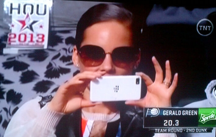 Alicia Keys Blackberry Allstar