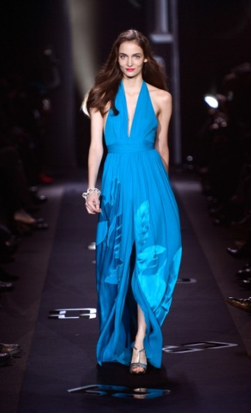 DVF FALL 2013 BOLD BLUE GLAM