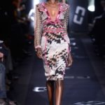 DVF FALL 2013 PRINTS OUTLINED IN PINK