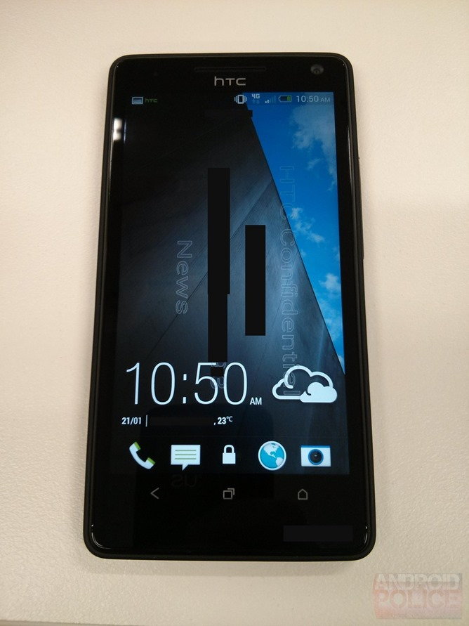 HTC M7front