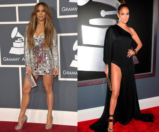 JENNIFER LOPEZ THEN AND NOW #Grammys dress