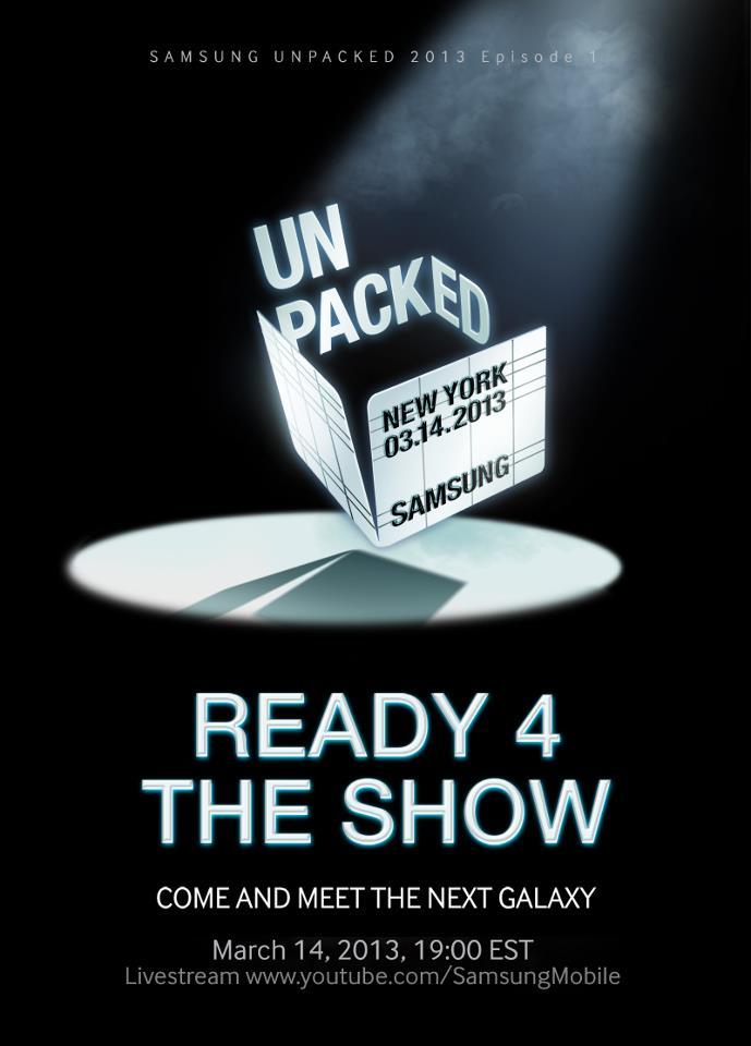 Samsung Galaxy S4 - Unpacked 2013