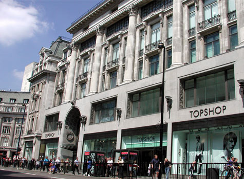 Topshop and Google London Fashion Week
