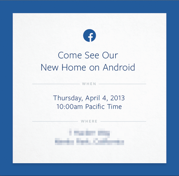 Facebook Android Event - Facebook Android Announcement