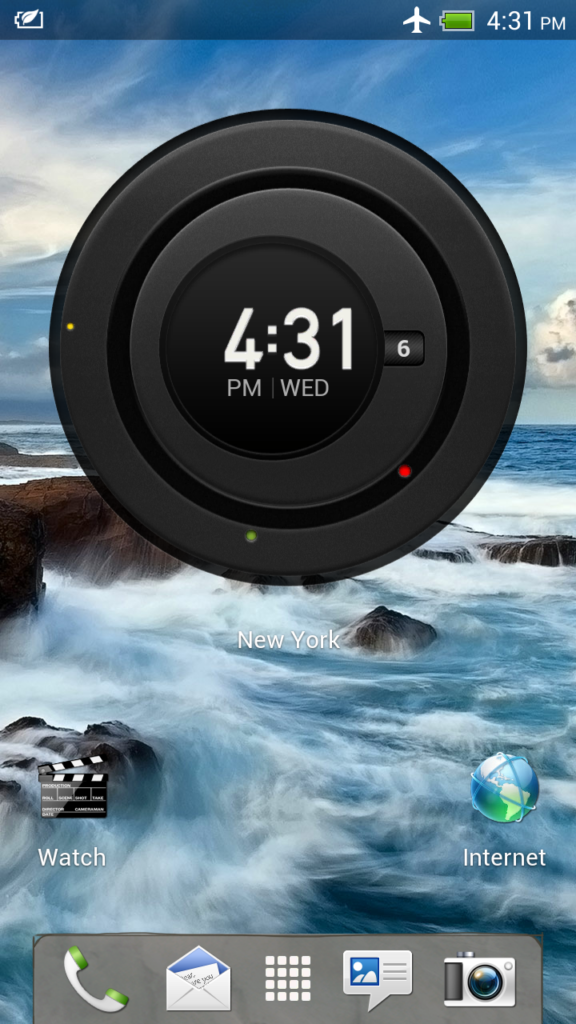 HTC One X + -  Lockscreen