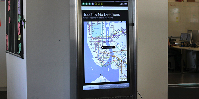 Interactive Kiosks - Touch and Go Directions