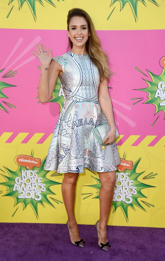 jessica alba kids choice awards