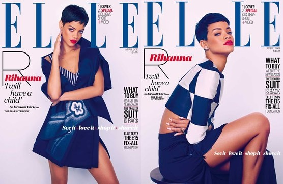 Rihanna-ElleUK-double cover