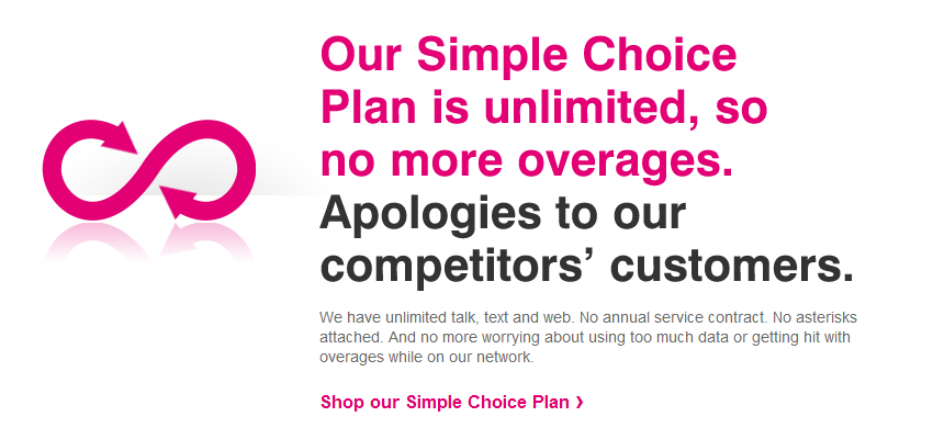 T-Mobile - Simple Choice - Unlimited Plan