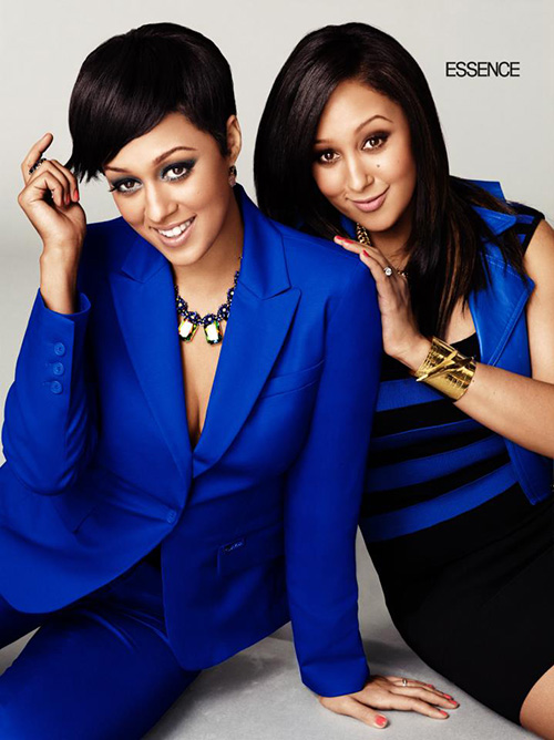 Tia & Tamera Covers Essence