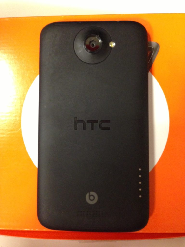 HTC One X + - Back - Camera View