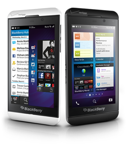 Blackberry Z10 DivasandDorks Mother's Day 2013 Tech Gift Guide