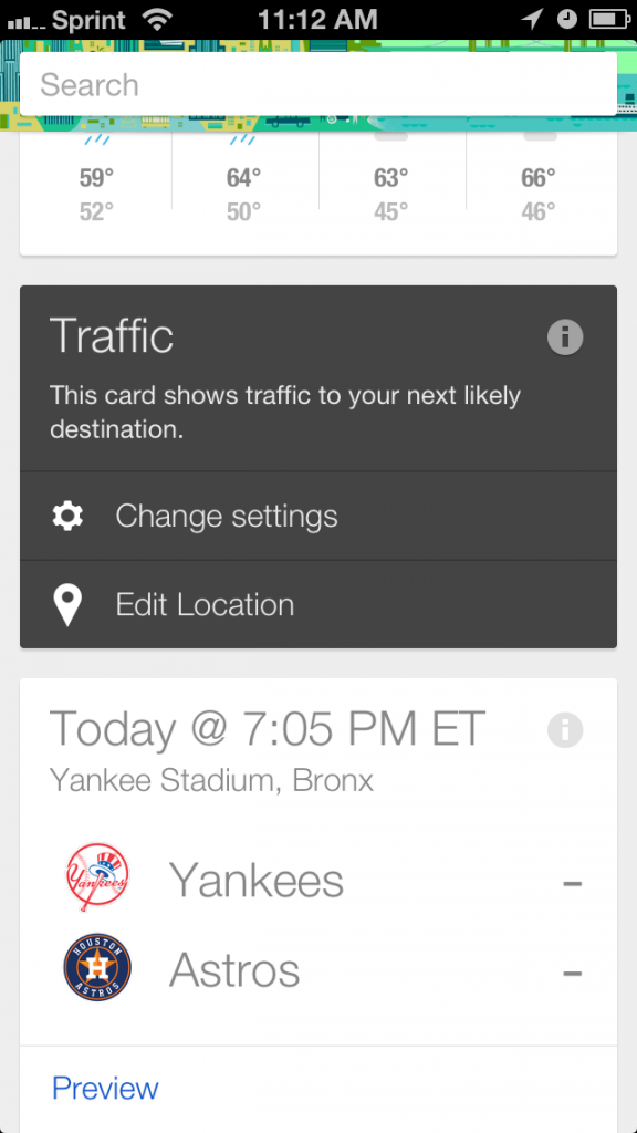 Google Now for iPhone and iPad - Analie Cruz - Tech Editor - Divas and Dorks - Card Settings