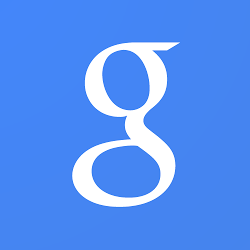 Google Now for Apple iPhone and iPad Blue Logo - Analie Cruz - Tech Editor - Divas and Dorks
