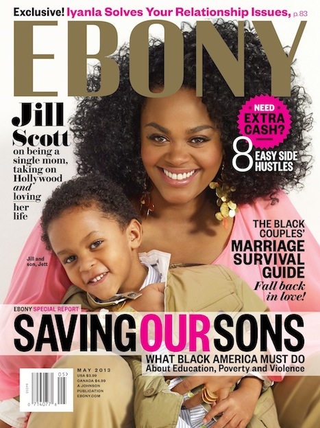 Jill Scott Covers Ebony Magazine